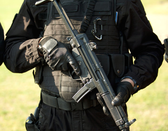 Law Enforcement Solutions swat image